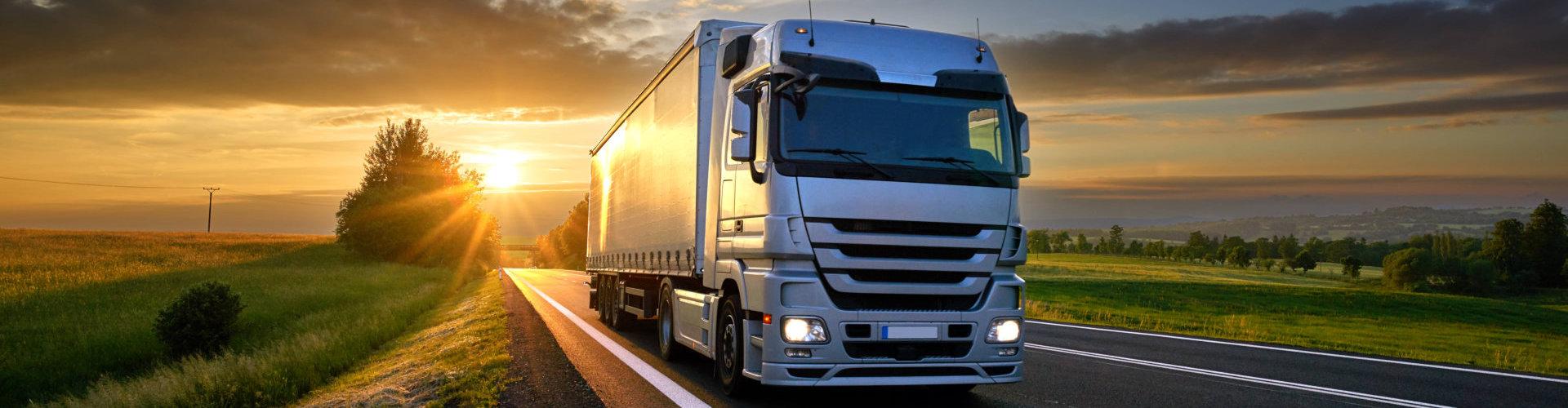 portrait of a truck